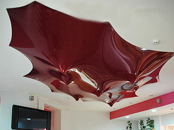 Как сделать рельефные потолки